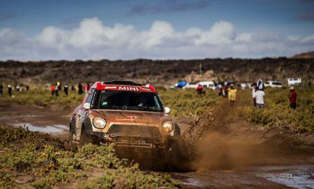 Kierowca AP nie zwalnia tempa (Dakar – 8 etap)