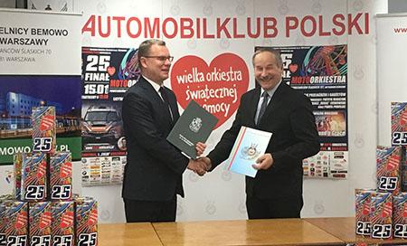 WOŚP – w Automobilklubie Polski z Gminą Bemowo