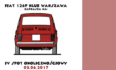 Zlot samochodów </br>Fiat 126p