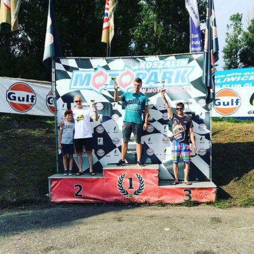 Zawodnicy AP Supermoto na podium w Koszalinie