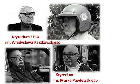 """Kryterium """"Fela"""" i im. M. Pawłowskiego"""