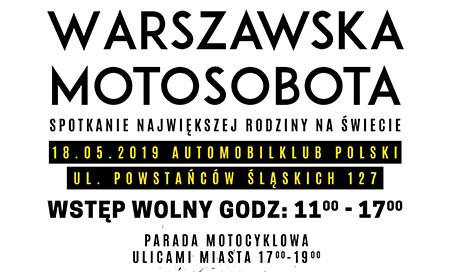 Warszawska Motosobota w Automobilklubie Polski