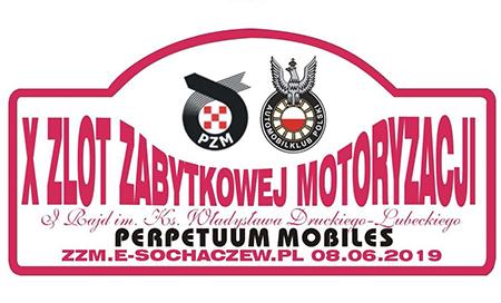 X Zlot Zabytkowej Motoryzacji i Rajd im. Ks. Władysława Druckiego-Lubeckiego