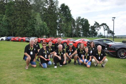 Ferrari Corsa Baltica z Automobilklubem Polski