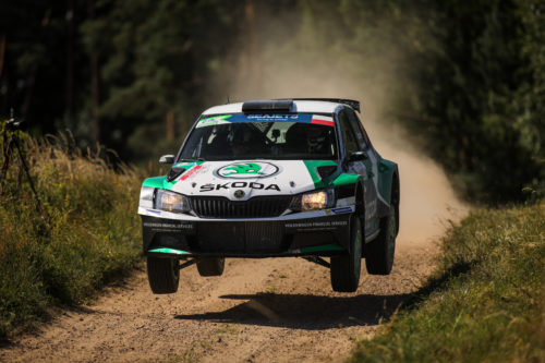 Miko Marczyk wygrał Rally Elektrenai