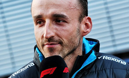 Robert Kubica w Alfa Romeo Racing