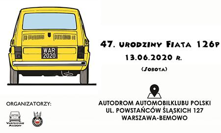 FotoSpot Okolicznościowy – 47. urodziny Fiata 126p