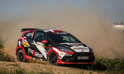 Byśkiniewicz wygrywa w Rally3